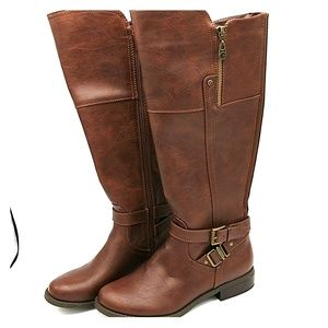 G by Guess Brown Riding Boots